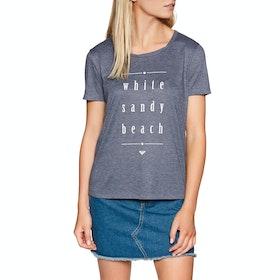 Roxy Chasing The Swell , Kortärmad T-shirt Dam - Mood Indigo