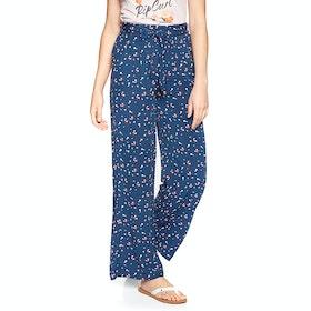 Pantalon Femme Rip Curl Beach Nomadic - Pacific Blue