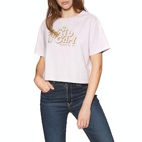 T-Shirt à Manche Courte Rip Curl Paradise Cove - Lilac