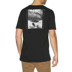 Vissla Friendly Fins Kurzarm-T-Shirt - Phantom