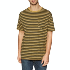 Vissla Trio Pocket Kurzarm-T-Shirt - Golden Hour Heather