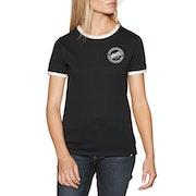 Nikita Dusk Ringer Womens Short Sleeve T-Shirt