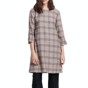 Gant Washable Wool A-line Dress - Warm Khaki