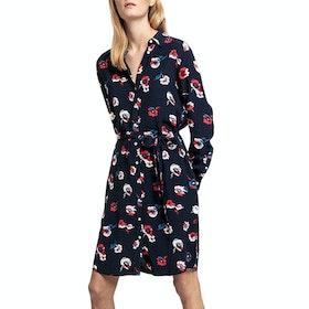 Gant Preppy Poppy Shirt Dress - Evening Blue