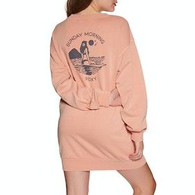 Roxy Secret Break Longline Womens Sweater - Cafe Creme