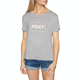 Roxy Simple Little Song Womens Short Sleeve T-Shirt - Heritage Heather