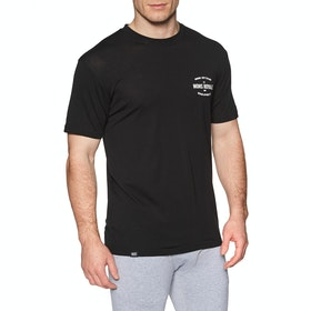 Mons Royale Icon Short Sleeve Base Layer Top - Black