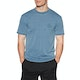 Mons Royale Icon Garment Dyed Short Sleeve Base Layer Top