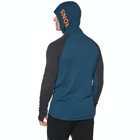 Mons Royale Traverse Midi Full Zip Hoody