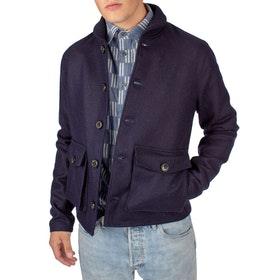 Peregrine Made In England Wilson Jacket - Navy