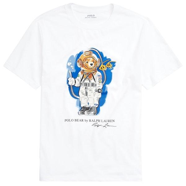 Polo Ralph Lauren Bear Boy's Short Sleeve T-Shirt