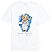 T-Shirt a Manica Corta Ralph Lauren Bear Junior