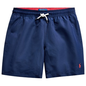 Polo Ralph Lauren Boxer Junior Swim Shorts - French Navy