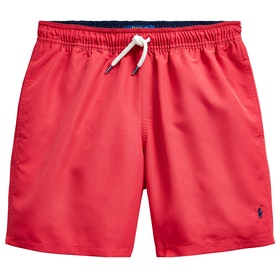 Polo Ralph Lauren Boxer Junior Swim Shorts - Sunrise Red