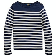 Polo Ralph Lauren Striped Knit Girl's Long Sleeve T-Shirt