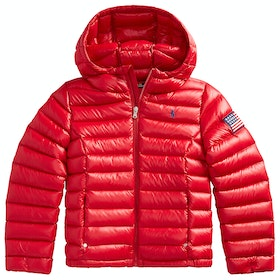 Polo Ralph Lauren Packable Quilted Down Jacket - Red