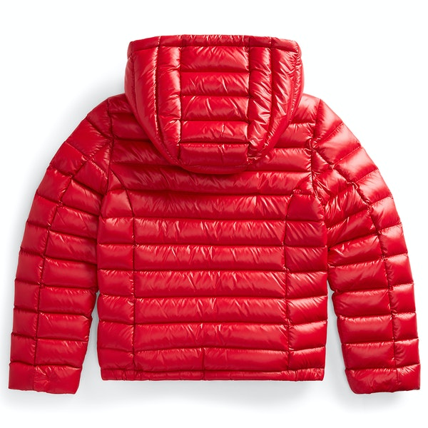 Ralph Lauren Packable Quilted Down Girl's Jacket