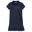Polo Ralph Lauren Cotton Mesh Polo Girl's Dress