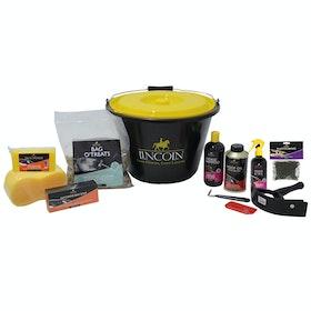 Lincoln Starter Bucket Grooming Kit - Multi