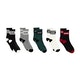 Globe Schooler Crew 5 Pack Fashion Socks