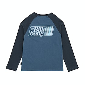 T-Shirt à Manche Longue Billabong Super 8 - Dark Blue