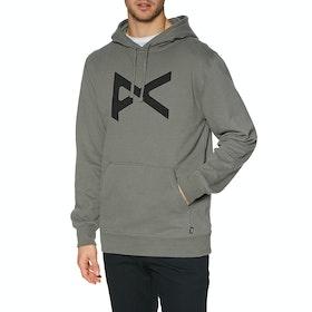 Anon Logo Pullover Hoody - Charcoal Gray
