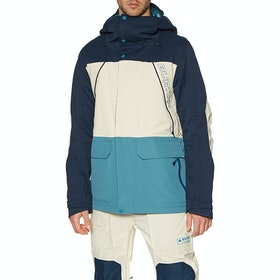 Burton Breach Snow Jacket - Drsblu Amdmlk Strmbl