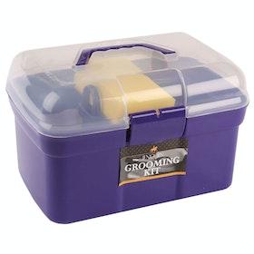 Lincoln Essential Grooming Kit - Purple