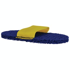 Lincoln Super Grooming Mitt - Yellow Blue