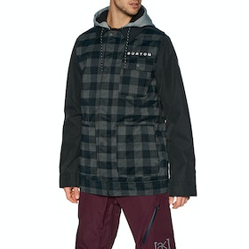 Burton Dunmore Snow Jacket - True Black Buff