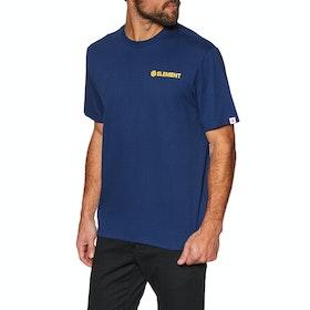Element Blazin Chest Short Sleeve T-Shirt - Blue Depths