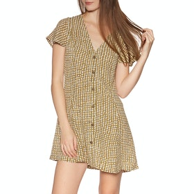 Rip Curl Paradise Cove Spot Dress - Gold