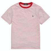 Ralph Lauren Stripe Boy's Short Sleeve T-Shirt