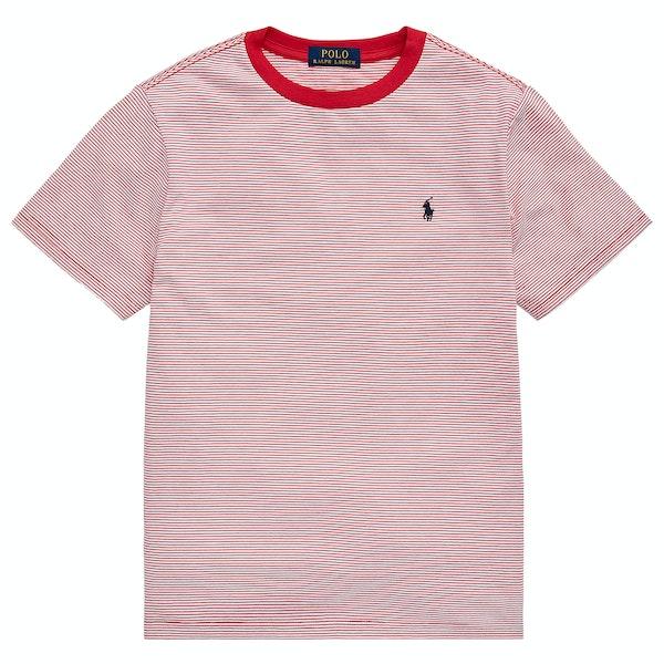 T-Shirt à Manche Courte Ralph Lauren Stripe
