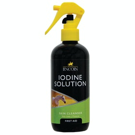 Lincoln Iodine Solution Horse First Aid - Clear