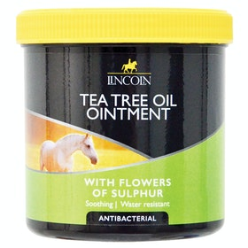 Lincoln Tea Tree Oil Ointment Horse First Aid - Clear