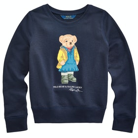 Polo Ralph Lauren Bear Knit Pullover - Hunter Navy