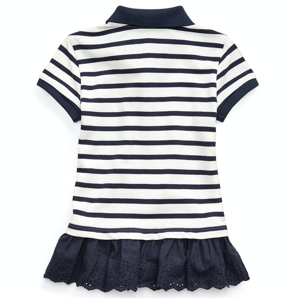 Polo Ralph Lauren Striped Knit Junior Polo-Shirt