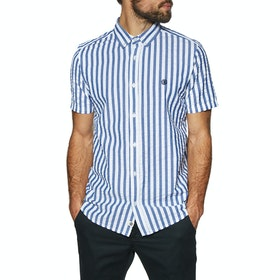 Element Icon Stripes Short Sleeve Shirt - Blue Stripes