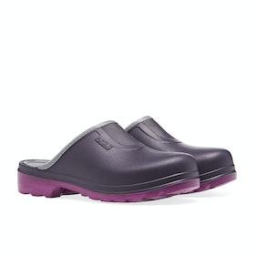 Aigle Taden Slip On Women's Wellington Boots - Aubergine/dahlia