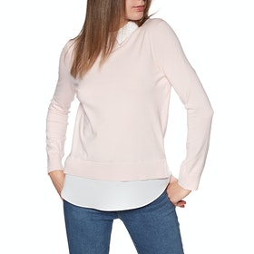 Ted Baker Zoilaa Embellished Collar Damen Knits - Pink