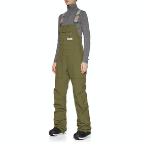 Burton Avalon Bib Womens Snow Pant - Martini Olive