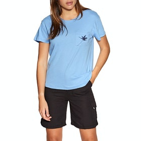 Rip Curl Minimalist Wave Short Sleeve T-Shirt - Allure