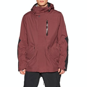Holden M-51 3-layer Fishtail Snow Jacket - Malbec