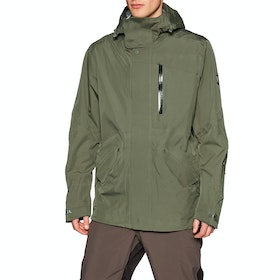 Holden M-51 3-layer Fishtail Snow Jacket - Stone Green