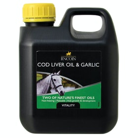 Lincoln Cod Liver Oil & Garlic Health Supplement - Clear