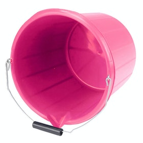 Lincoln Stable Bucket - Cerise Pink