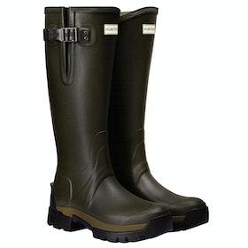Stivali di Gomma Hunter Balmoral II Side Adjustable 3mm Neo - Dark Olive