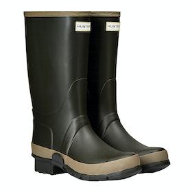 Stivali di Gomma Hunter Gardener - Dark Olive Clay