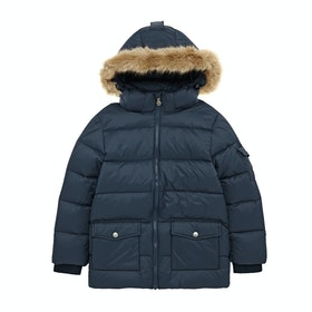 Pyrenex Authentic Mat Synthetic Fur Prošívaná bunda - Amiral